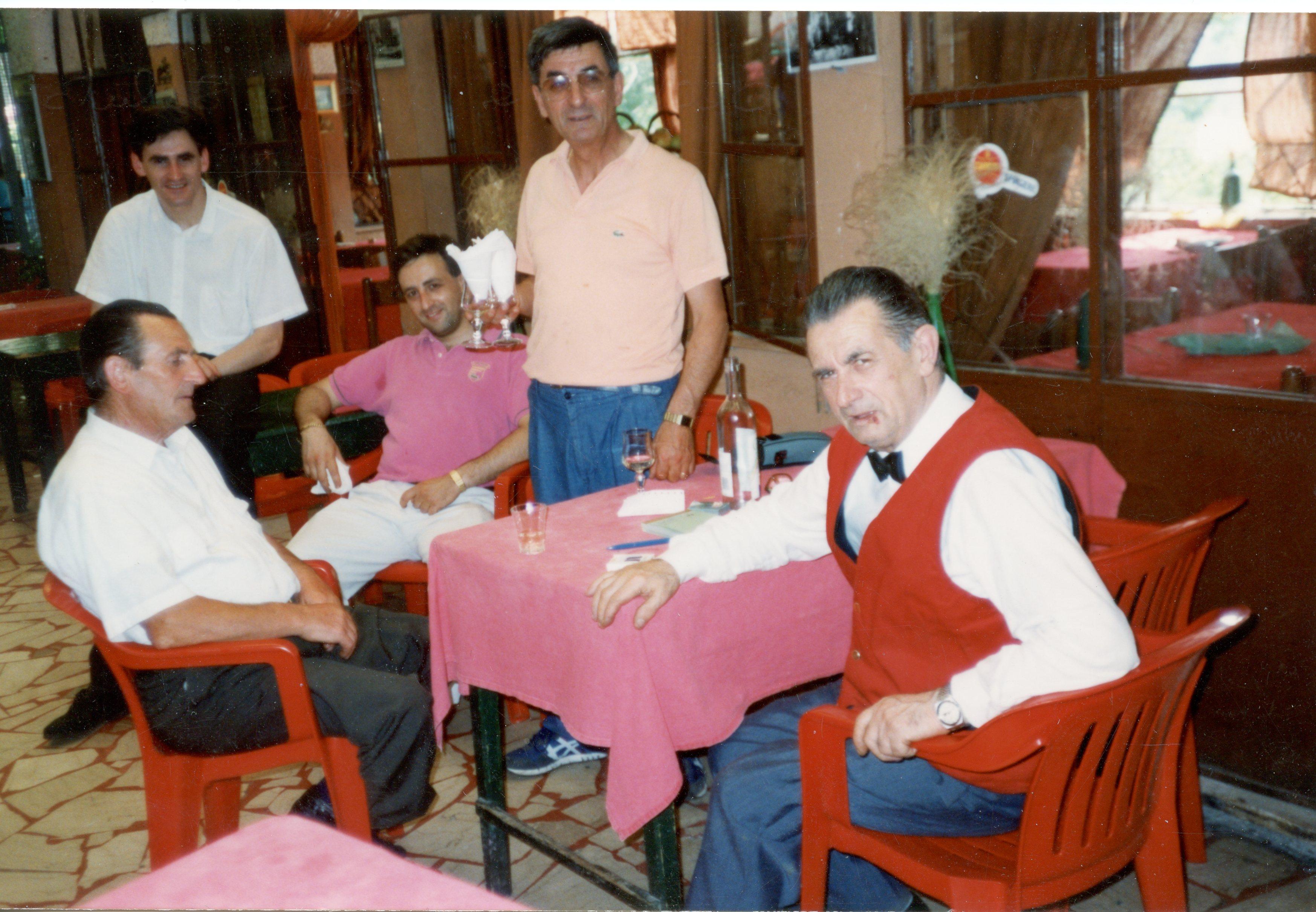 Roberto, Fabio, Franco, Angelo e Mario Fransesini